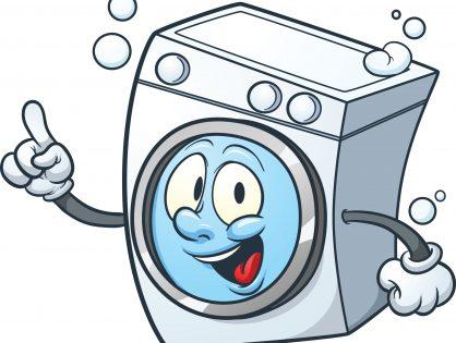 A la lavadora y punto !