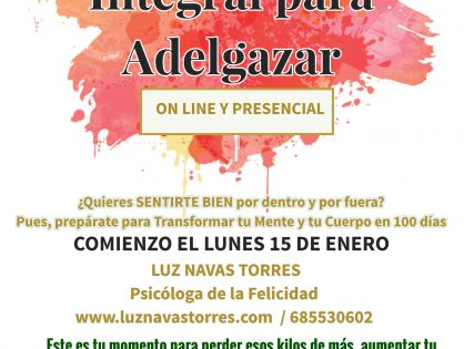 Charla informativa Programa Integral para Adelgazar en Torredelcampo, Jaén