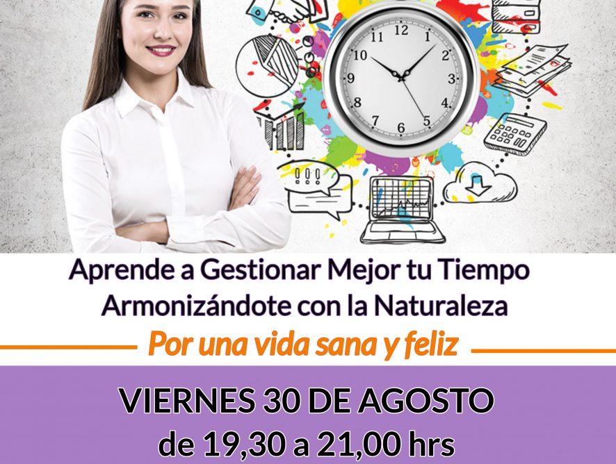 cartel charla gestion del tiempo(1)